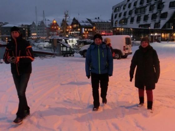 Polar Night Halfmarathon Tromsø / 09.01.16